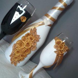 Arany szerelem  esküvői szett