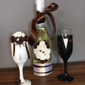 Csoki varázs  esküvői szett
