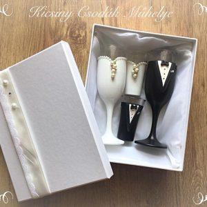 Bross  esküvői szett
