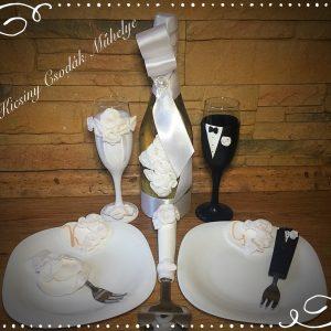 Fehér  szerelem  esküvői szett