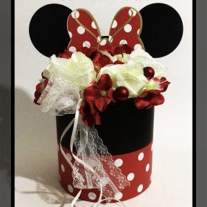 Minnie egér virág box 1.