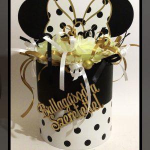 Minnie egér virág box 2.