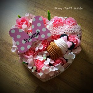 Minnie egeres virág box